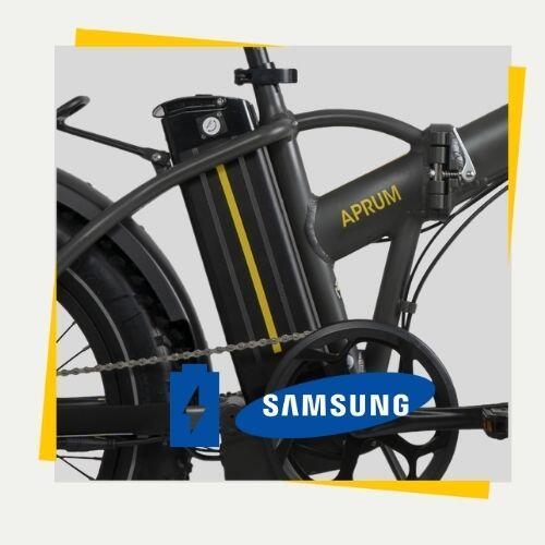 Batteria 552 Wh Samsung a litio per ebike